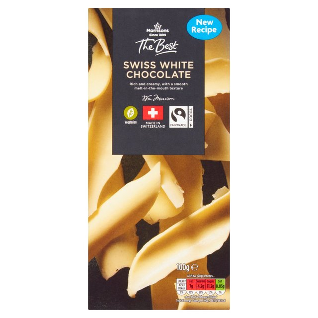 Morrisons The Best White Chocolate