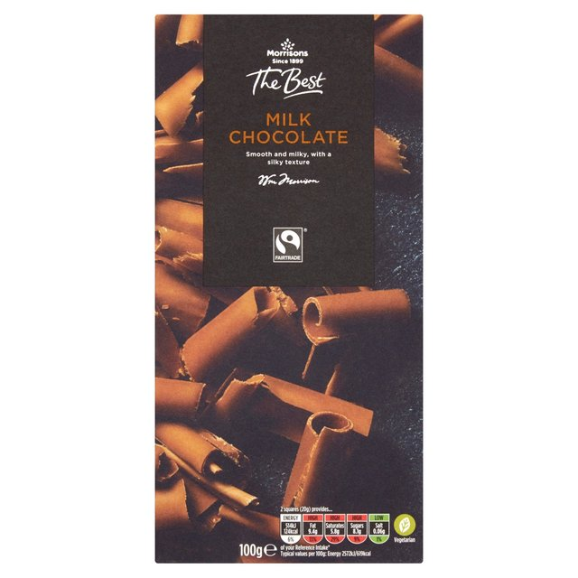 Morrisons The Best 41% Cocoa Milk Chocolate