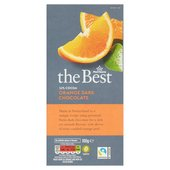 Morrisons The Best 52% Cocoa Dark Chocolate With Orange