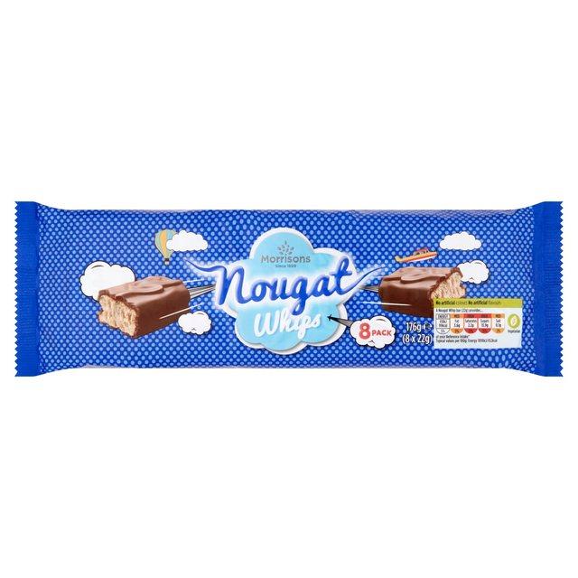 Morrisons: Morrisons Nougat Whips 8 pack 176g(Product ...