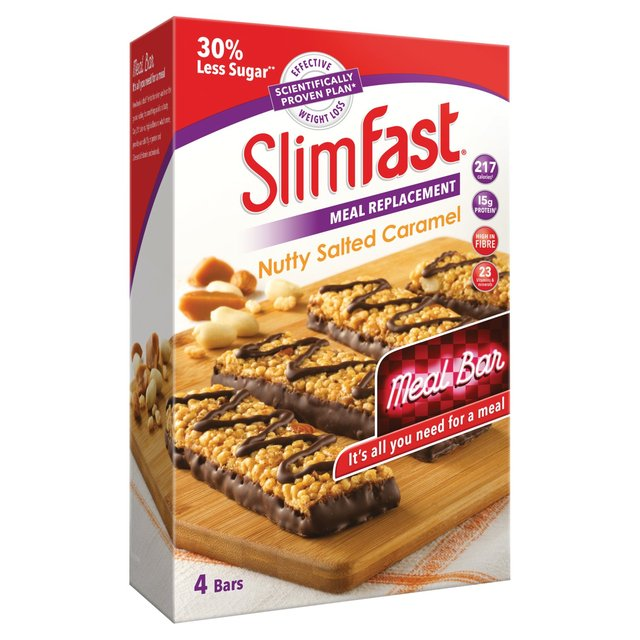 Slimfast Nutty Salted Caramel Meal Bars
