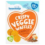 Heavenly Carrot & Cumin Waffles