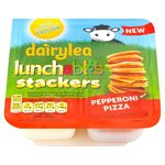 Dairylea Lunchables Stackers Pepperoni Pizza