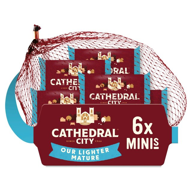 Cathedral City Minis Lighter Cheeses