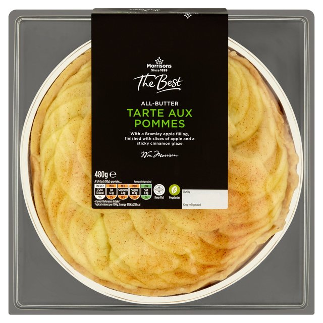 Morrisons: Morrisons The Best Tarte Aux Pommes (Product Information)