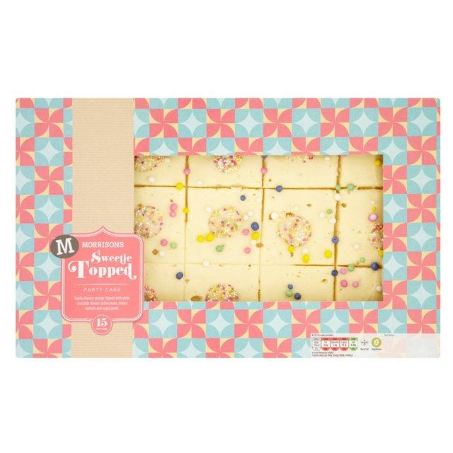 Morrisons: Morrisons Vanilla Sweetie Traybake (Product