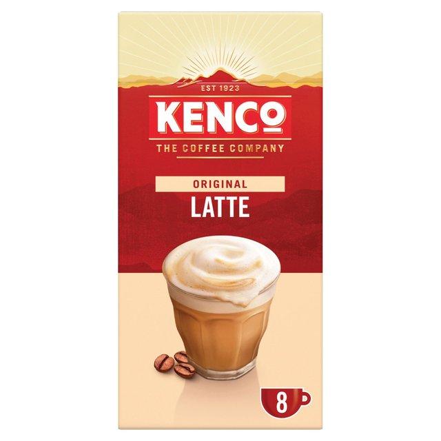 Morrisons Kenco Latte Instant Coffee 8 Sachets 1584g