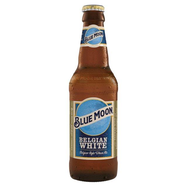 Blue Moon Belgian White American Craft Wheat Beer