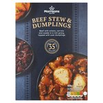 Morrisons Beef Stew & Dumplings