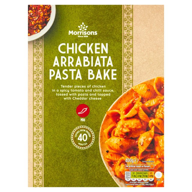 Morrisons Chicken Arrabiata & Tomato Pasta Bake