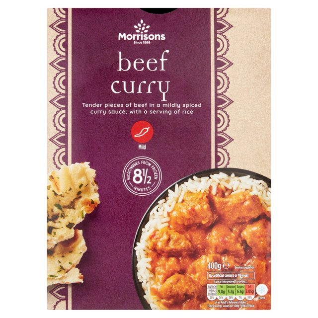 Morrisons Beef Curry & Rice | Morrisons