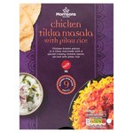 Morrisons Chicken Tikka Masala With Rice