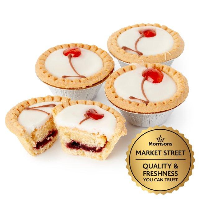 Market Street Cherry Bakewell Tarts
