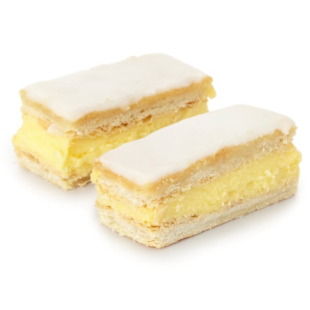 Morrisons Vanilla Custard Slices