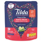 Tilda Pulses & Rice Pinto Bean, Green Chilli & Lime