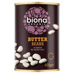 Biona Organic Butter Beans In Water (400g)