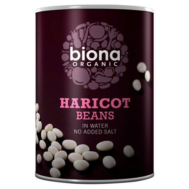 Biona Organic Haricot Beans In Water (400g)