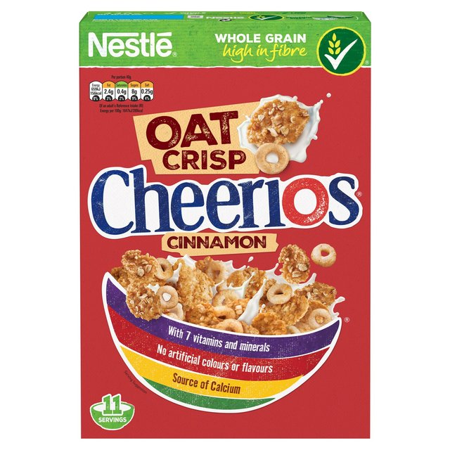 Nestle Cheerios Cinnamon Oat Crisp Cereal