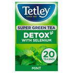 Tetley Super Green Tea Detox Mint 20s