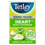 Tetley Super Fruits Apple & Pear 20s