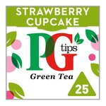 Pg Tips Strawberry Smooth Green Tea 25s