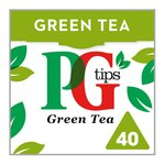 Pg Tips Pure Green Pyramid Tea Bags 40s