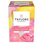 Taylors of Harrogate Rose Lemonade Tea 20s