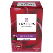 Taylors of Harrogate Sour Cherry Fruit Tea 20s