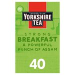 Yorkshire Tea Breakfast Brew 40s