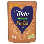Tilda Microwave Brown Basmati Rice and Quinoa