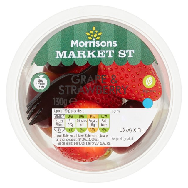 Morrisons Grape & Strawberry