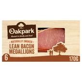 Oakpark Smoked Bacon Medallions 6 Pack