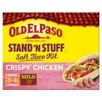 Old El Paso Stand 'N' Stuff Crispy Chicken Soft Taco Kit 351g