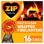 Zip Fast & Clean Wrap Firelighters