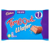 Cadbury Timeout Wafer Biscuits 7 Pack