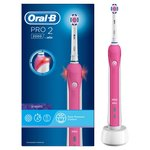 Oral-B Pro 2000 Cross Action Pink Electric Toothbrush