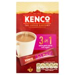 Kenco 3 In 1 Instant Coffee 10 Sachets