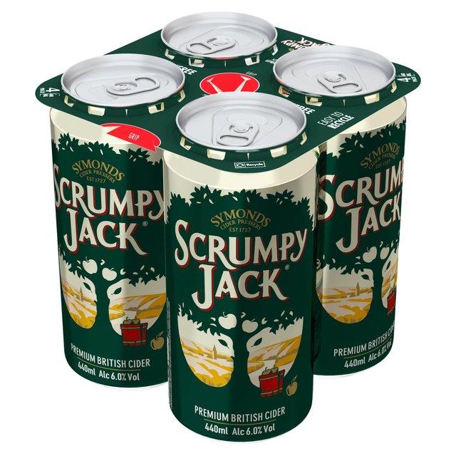Symonds Scrumpy Jack Premium British Cider Cans