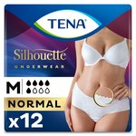 TENA Lady Silhouette Incontinence Pants Normal M Duo