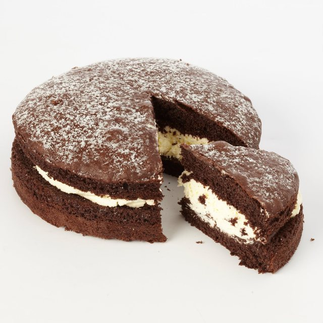 Morrisons Morrisons Fresh Cream Chocolate Sponge 6 Product