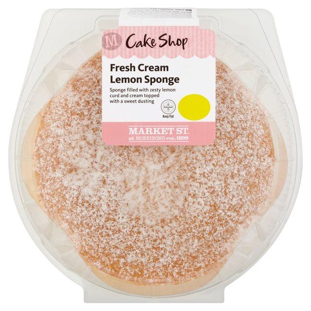 Morrisons Fresh Cream Cakes