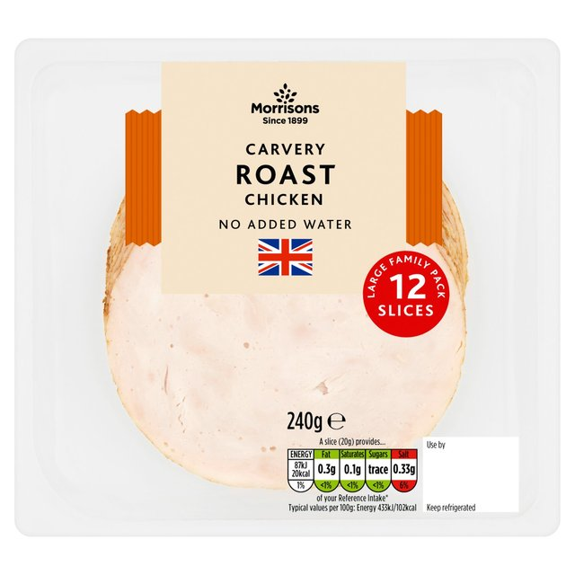 Morrisons Carvery Roast Chicken 12 Slices