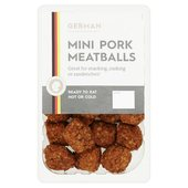 German Pork Meatballs