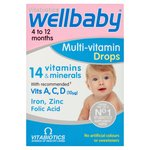 Vitabiotics Wellbaby Multi Vitamin Drops