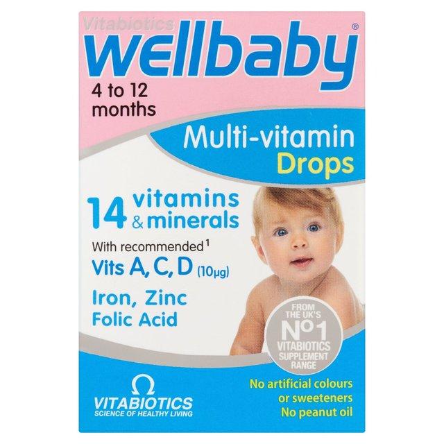 Vitabiotics Wellbaby Multi Vitamin Drops