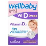 Vitabiotics Wellbaby Vitamin D Drops