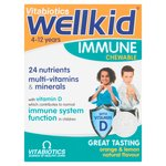 Vitabiotics Wellkid Immune Chewable