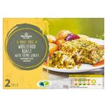 Morrisons 2 Wholefood Roasts with Thyme Gravy