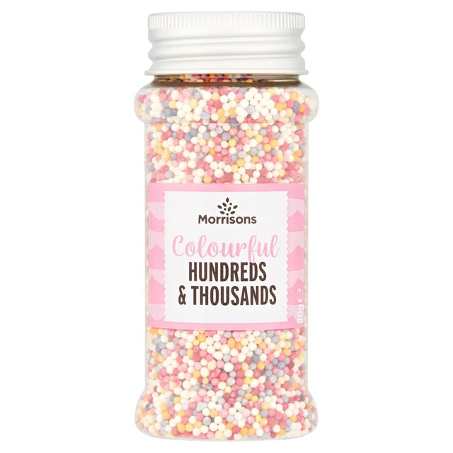 Morrisons Hundreds And Thousands Sprinkles