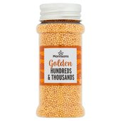 Morrisons Gold Hundreds And Thousands Sprinkles
